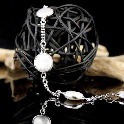 Bratara din argint, cu perle  Produs