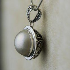 Pandantiv din argint, cu perla  Produs