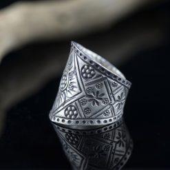 Inel reglabil din argint  Produs