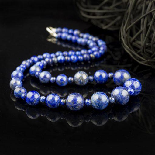 Colier din pietre semipretioase – lapis-lazuli