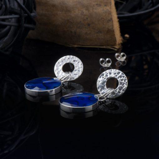 Cercei din argint cu sidef  Produs