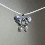 Pandantiv din argint cu abalone