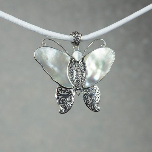 Pandantiv din argint cu sidef