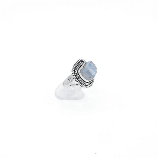 Inel argint cu piatra lunii  Produs