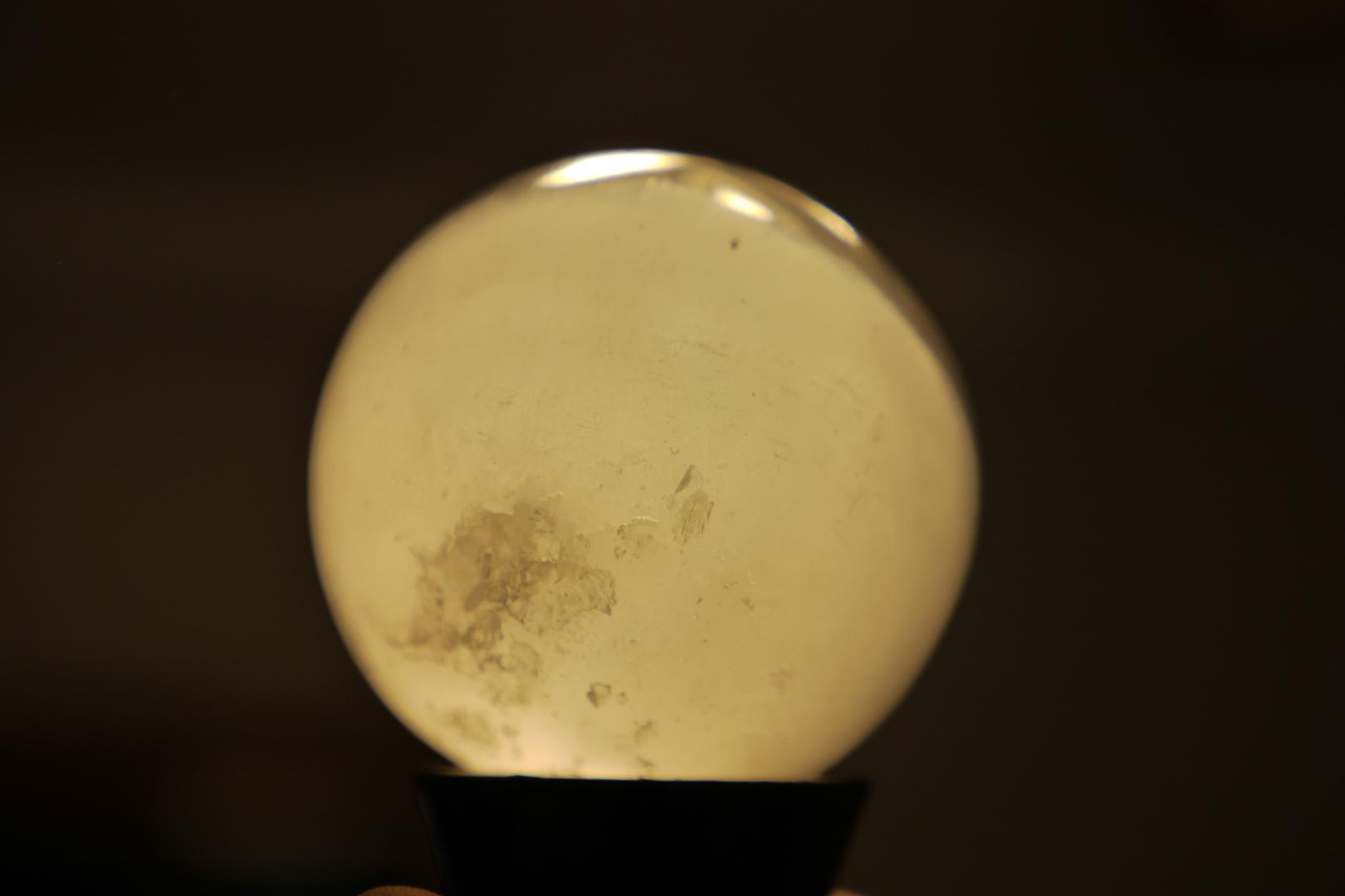 Sfera selenit • Cristale si geme